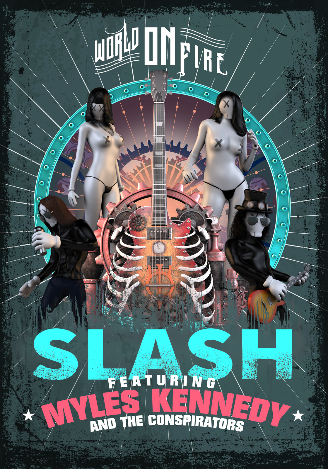 SLASH / World On Fire