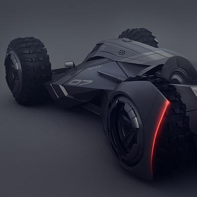 Encho enchev batmobile concept2
