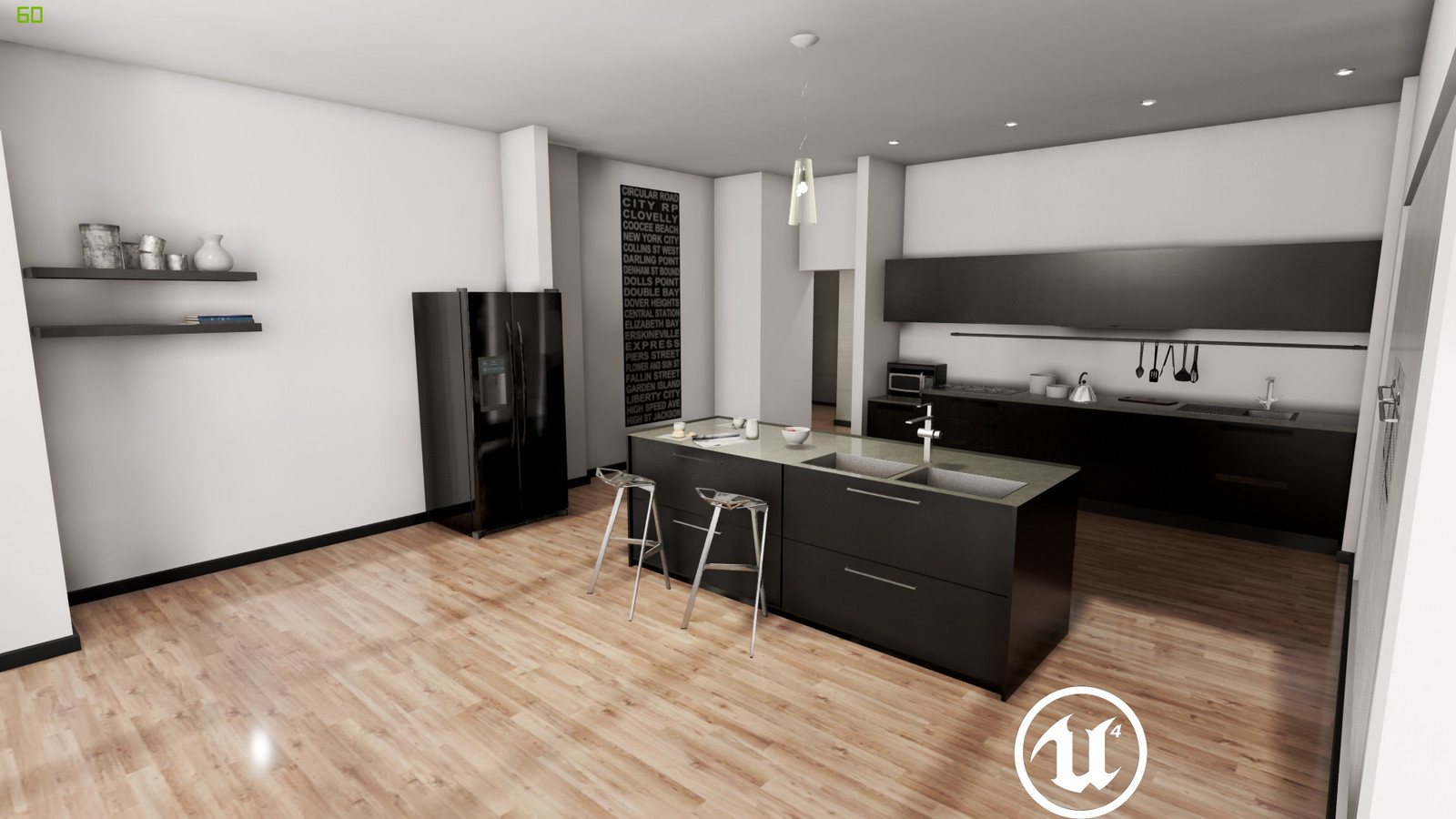 Unreal Engine 4 - NYC Penthouse (WIP)