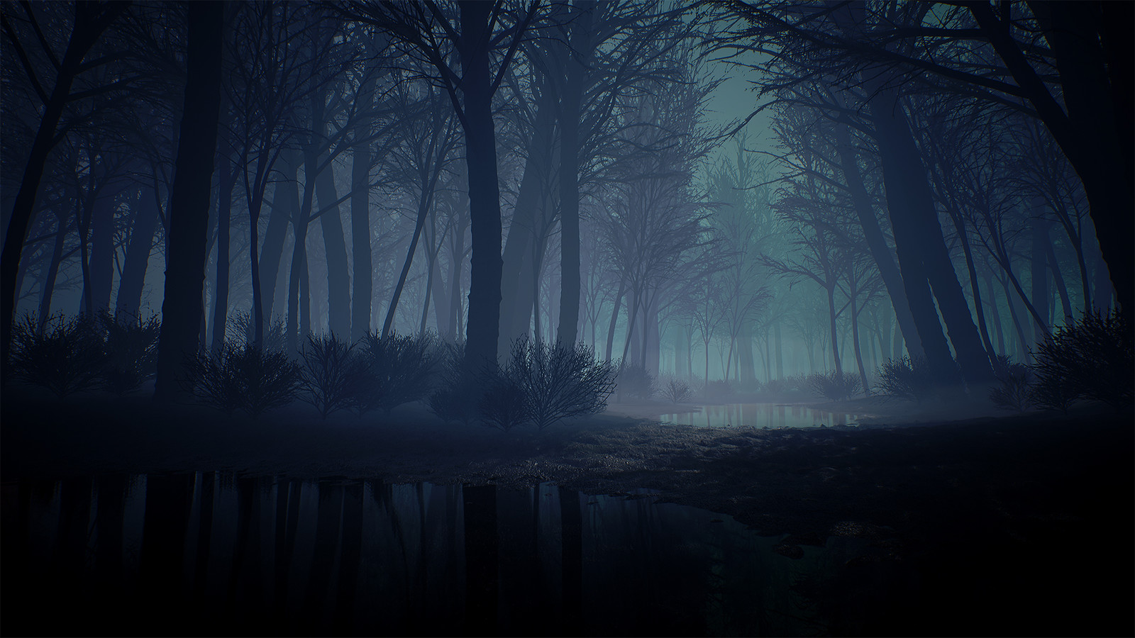 A Quick Creepy Forest Environment in UE4