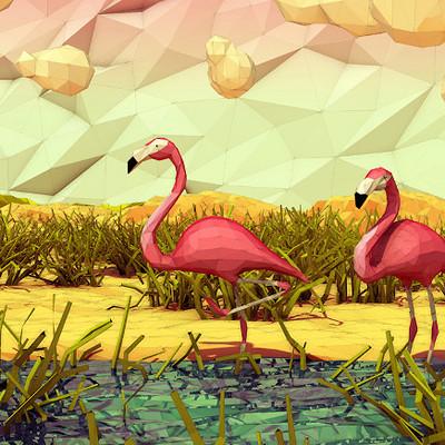 Facundo giovannone facundo giovannone 3d artist flamingo 905