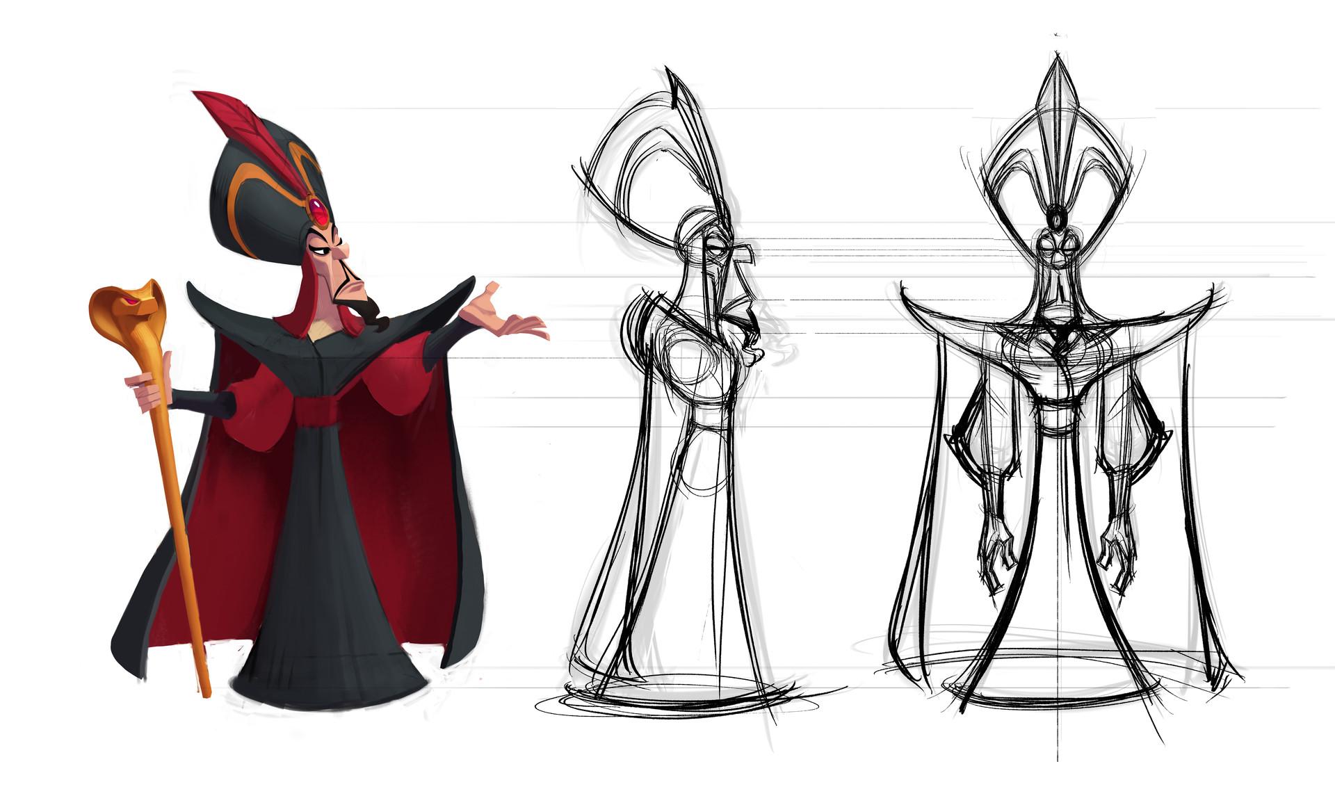 Character Design Art Station : Artstation disney infinity design for jafar josh black