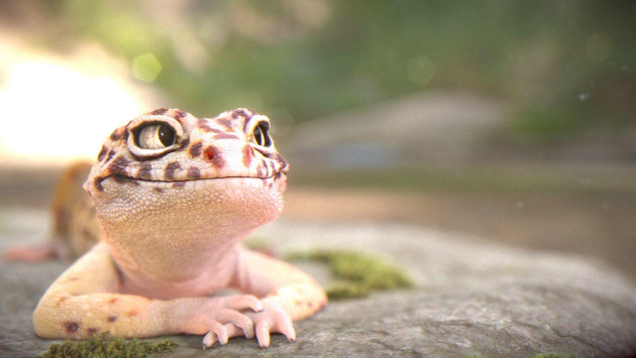 ArtStation - Leopard gecko, Mathias Vera Toro  ArtStation - Le...