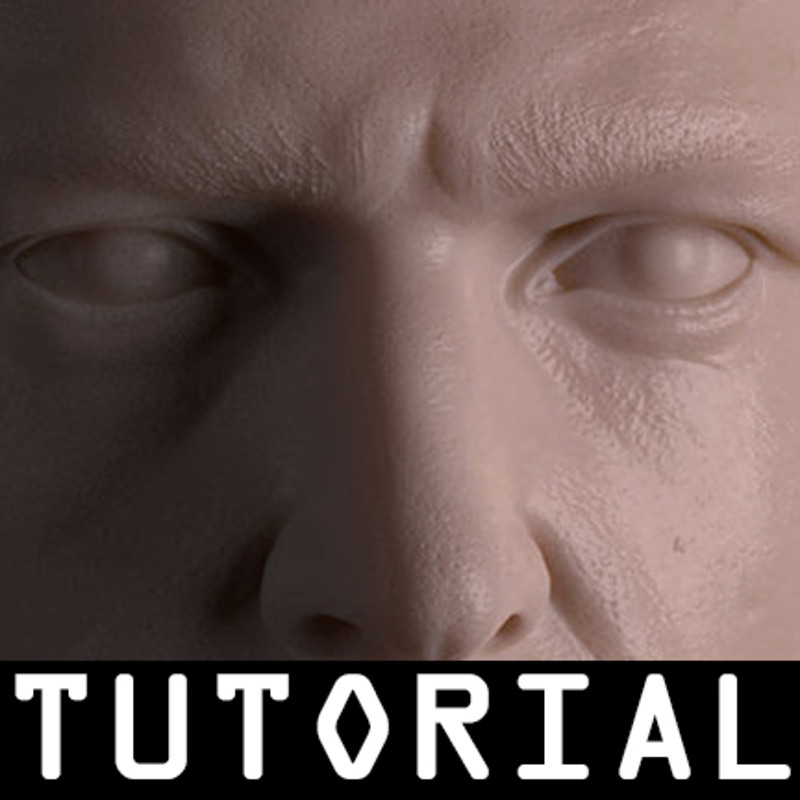 Male Head Sculpt and SSS Study