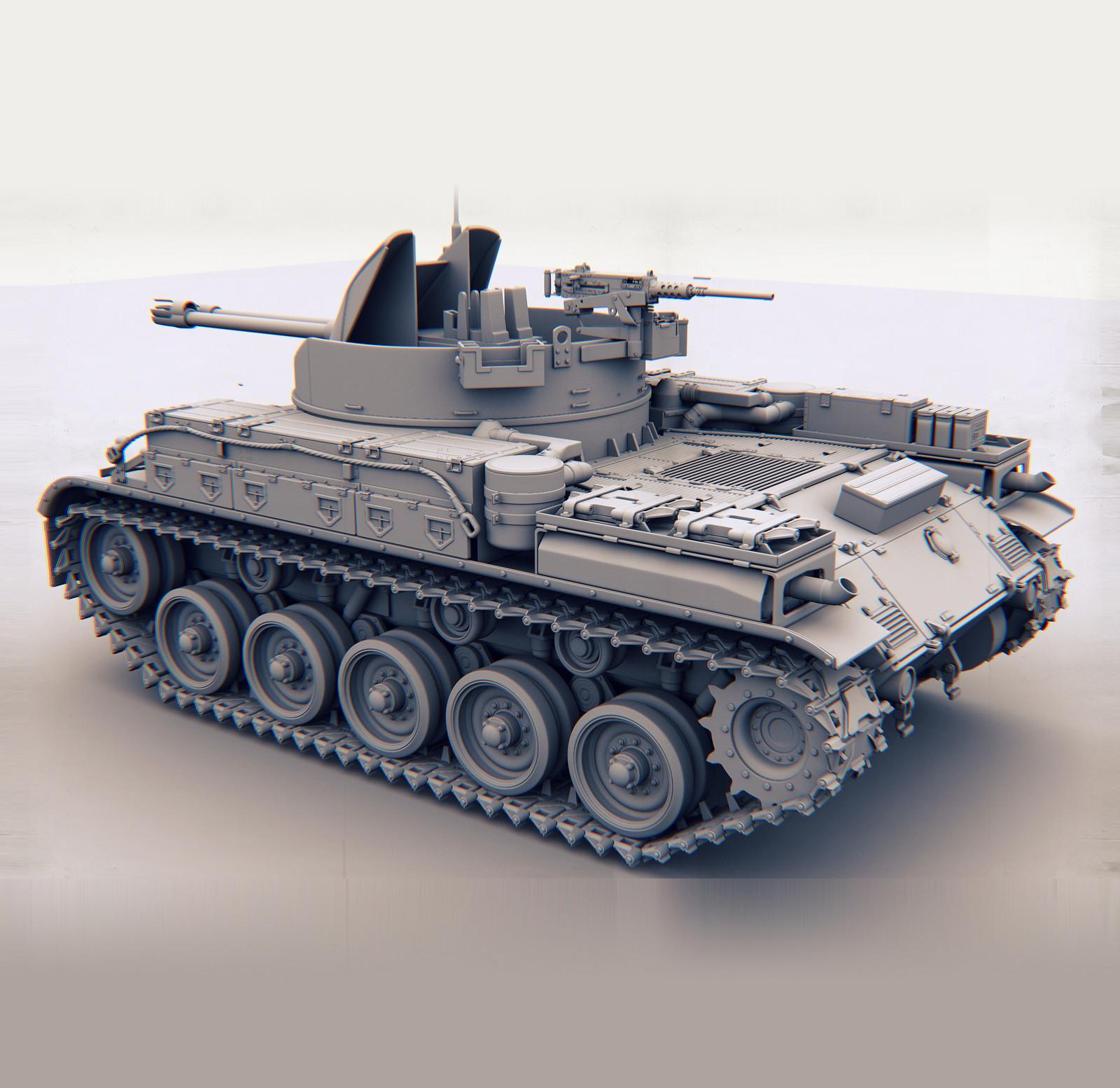Tank Duster W.I.P.