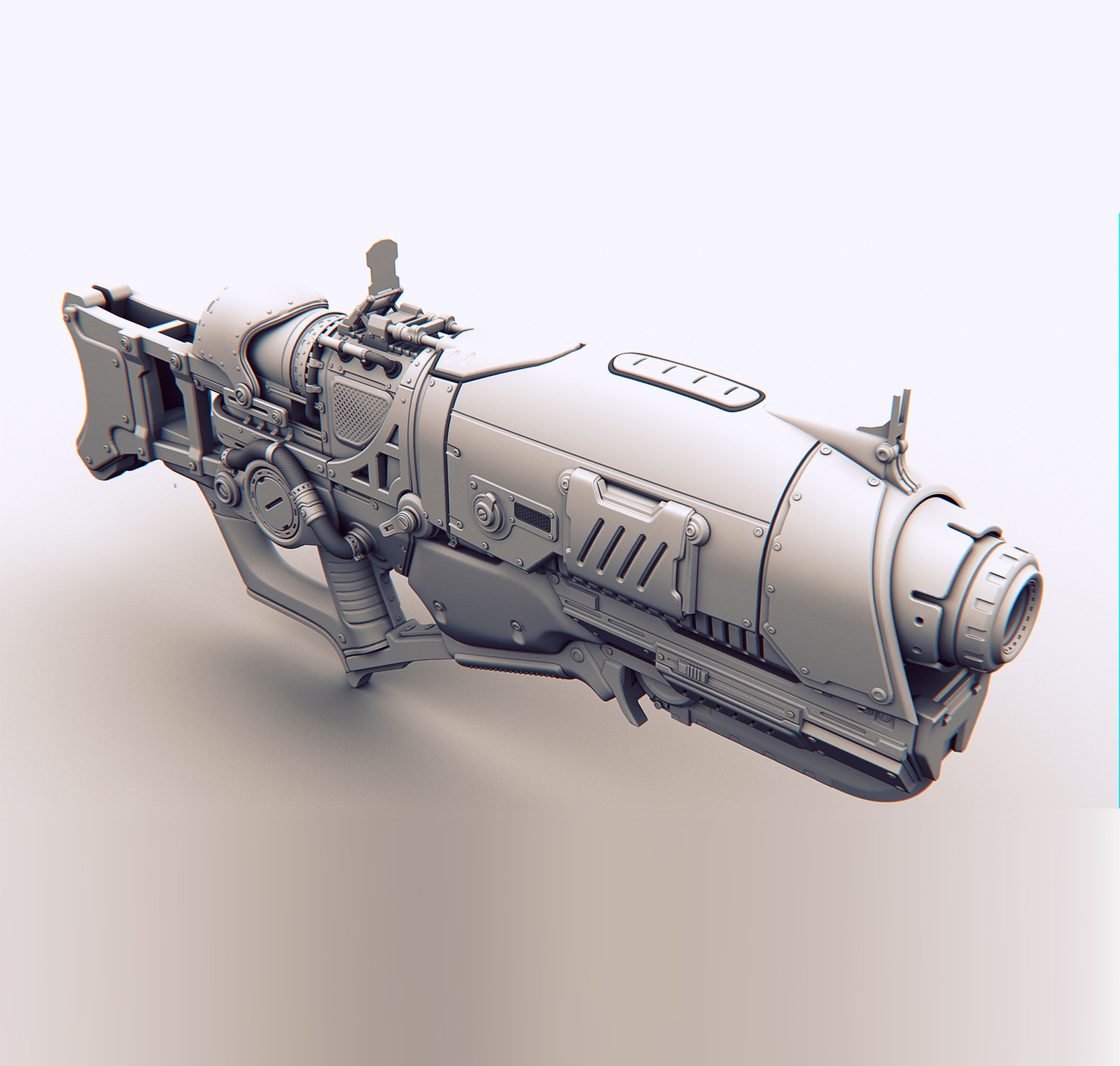 Futuristic Weapon