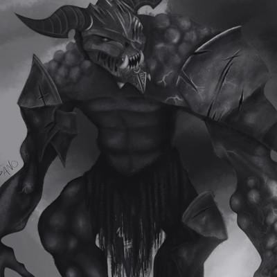 Sano eli horned monster 1
