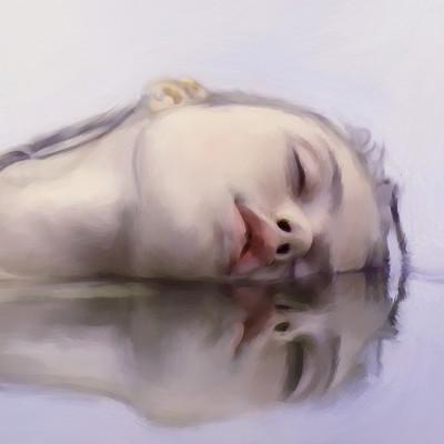 Solo art watergirl12det