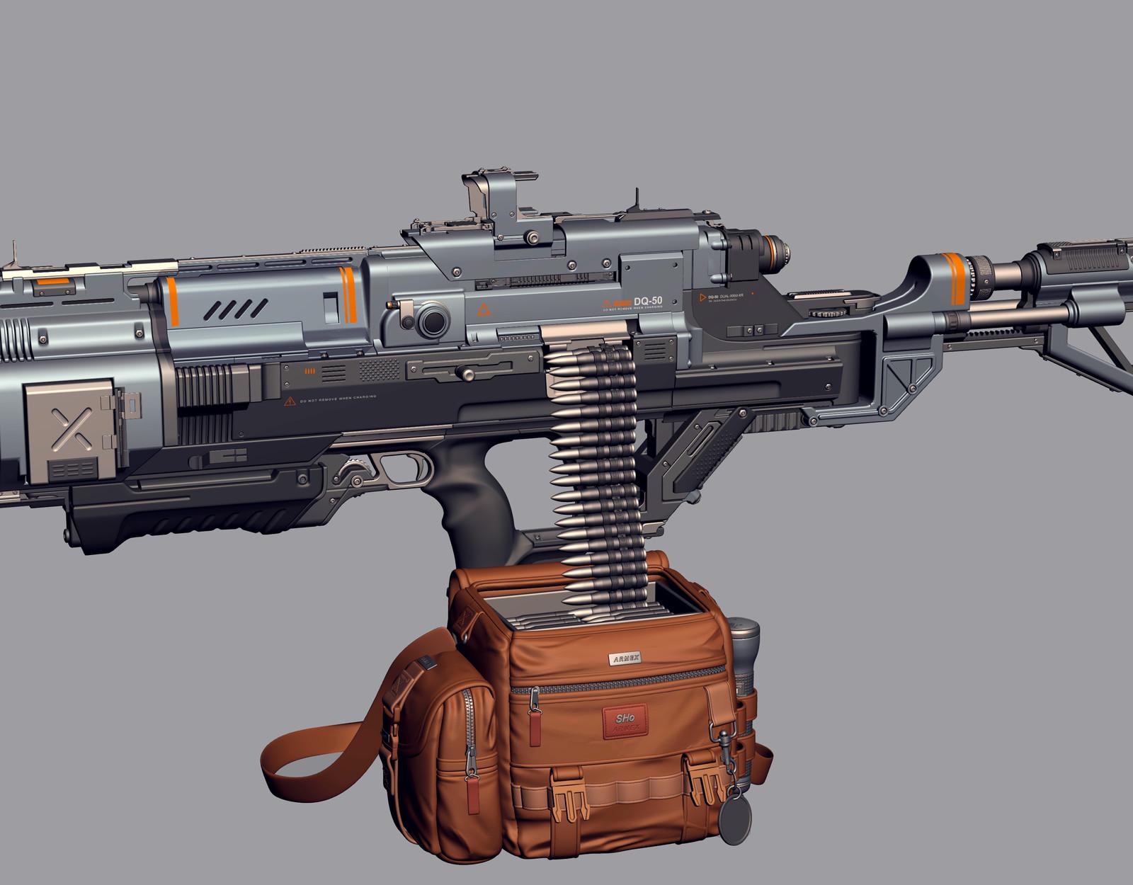 Dual Rifle DQ-50