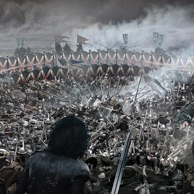 Kieran belshaw battle of bastards shieldwall v005