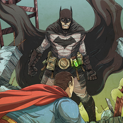 Vicente valentine batman versus superman6