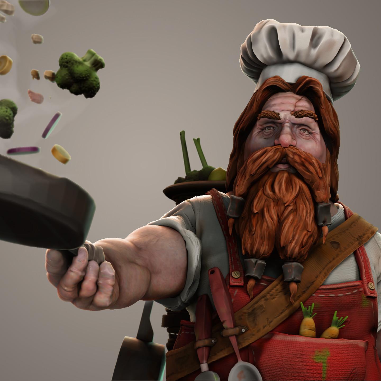 Popo The Chef