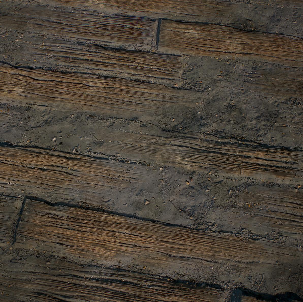 Dusty Planks - 100% Substance Designer