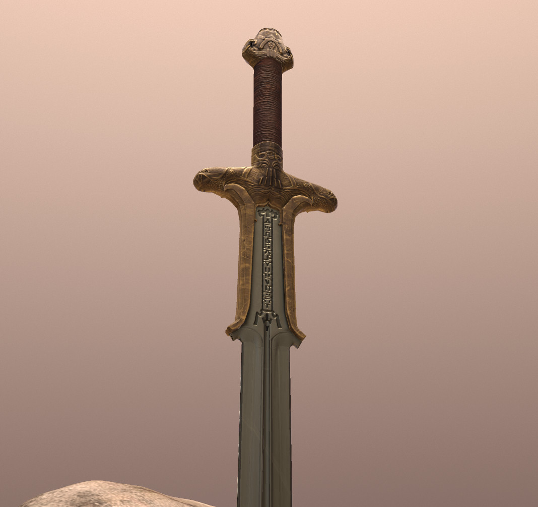 Conan the Barbarian's Atlantean Sword