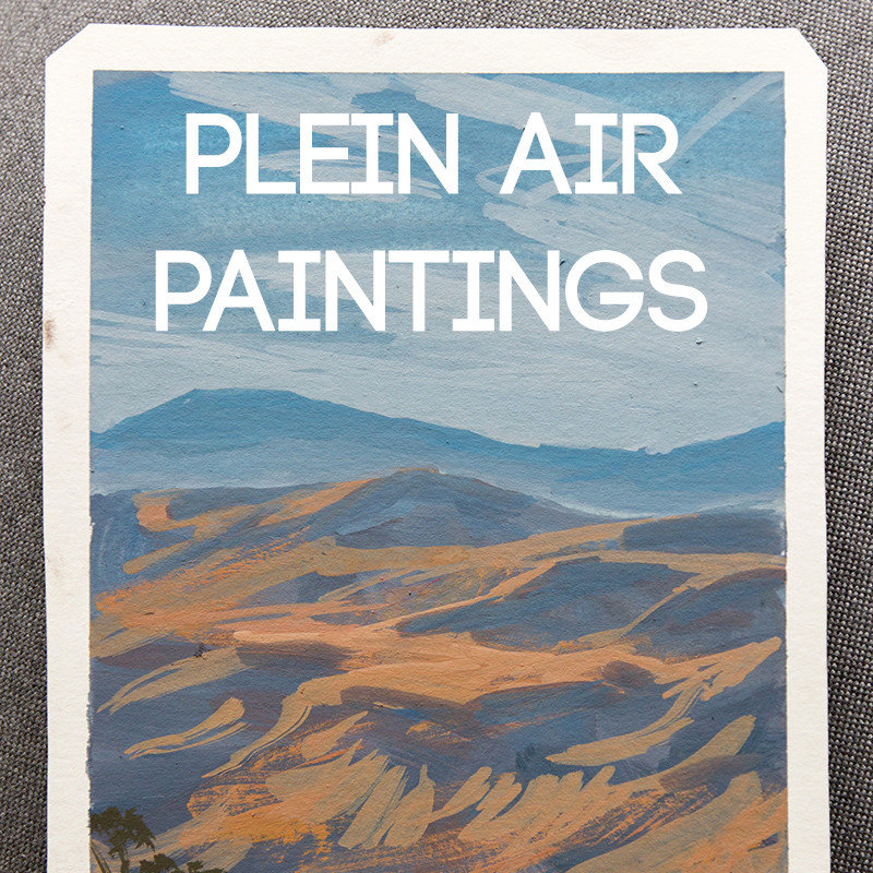 Plein-air Paintings