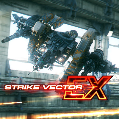 Paul chadeisson strikevectorex ps4game masterart
