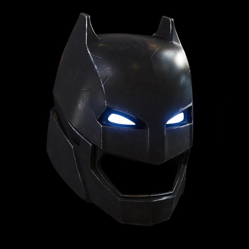 Batman v Superman - Armored Batman helmet