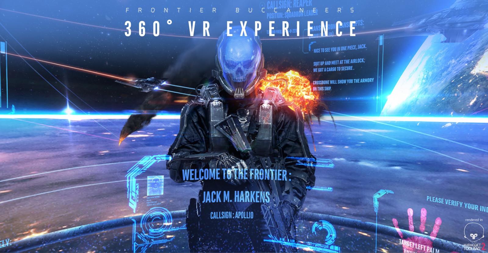 Frontier Buccaneers - 360 VR Experience version