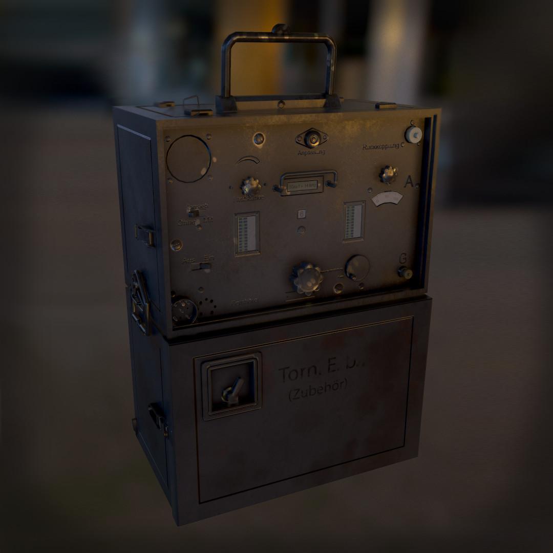 WWII Receiver Radio