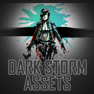 Assets for the game 'Dark Storm Ascension'