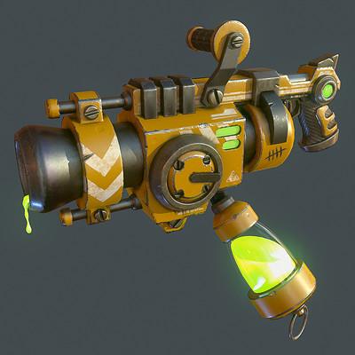 Stylized Sci-Fi Goo Gun