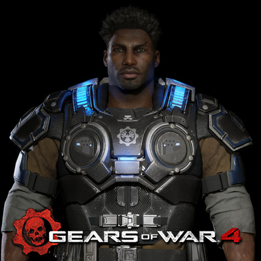 Gears of War 4: Del Walker