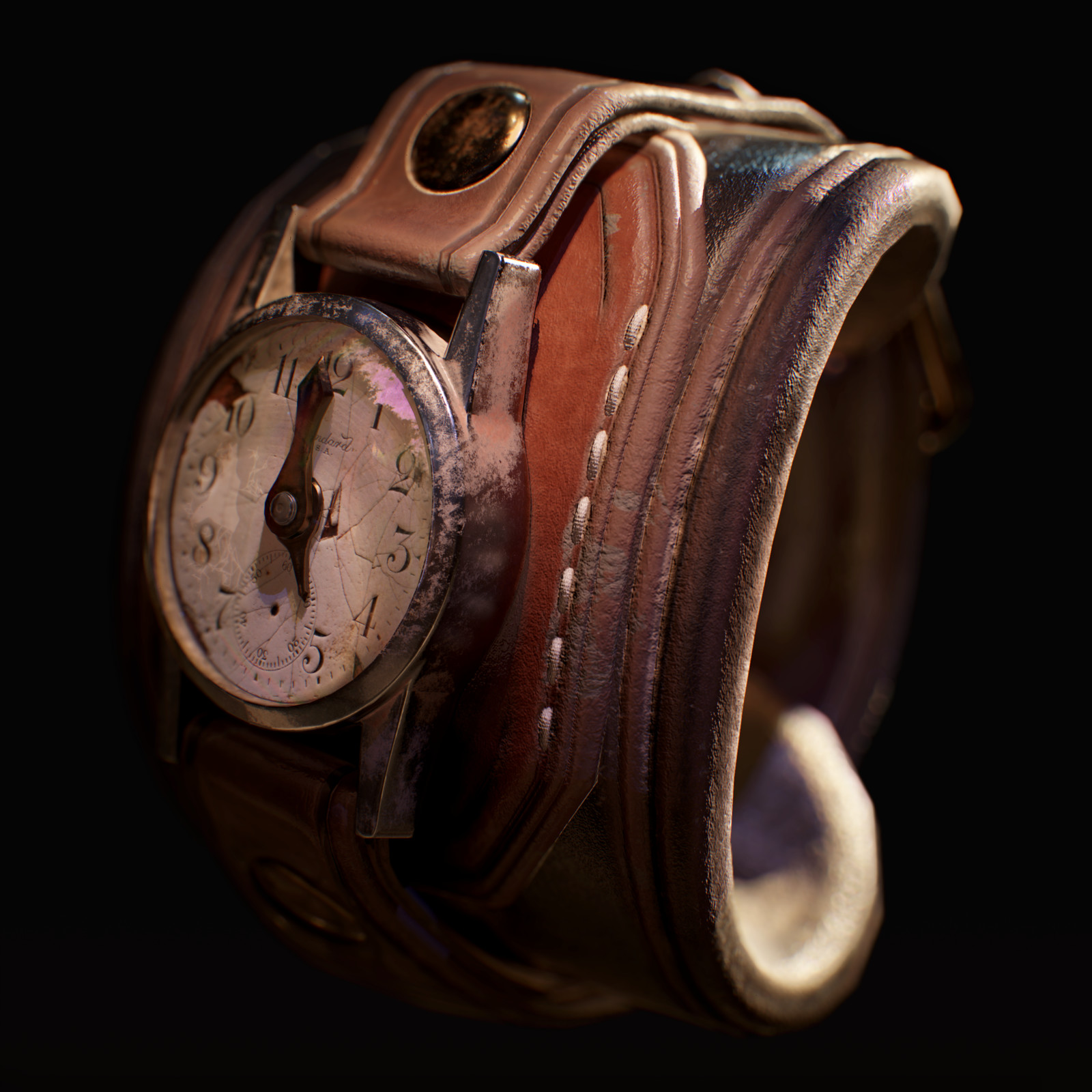 Broken Steampunk Watch