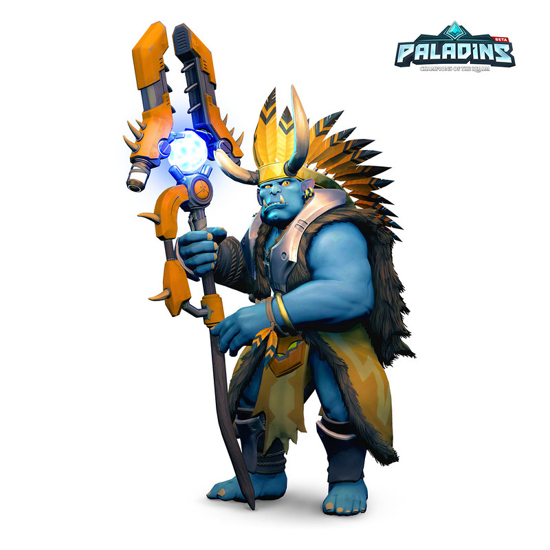 Grohk's Staff - Paladins: Champions of the Realm