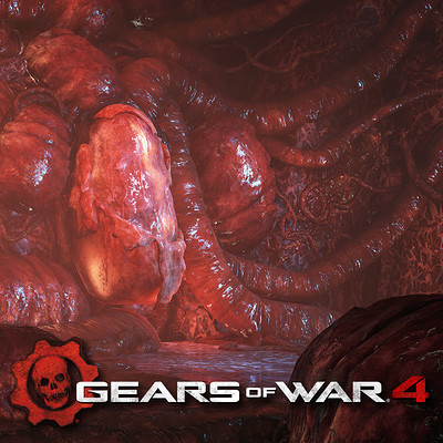 Gears of War 4: Marcus and Reyna Swarm Cinematics