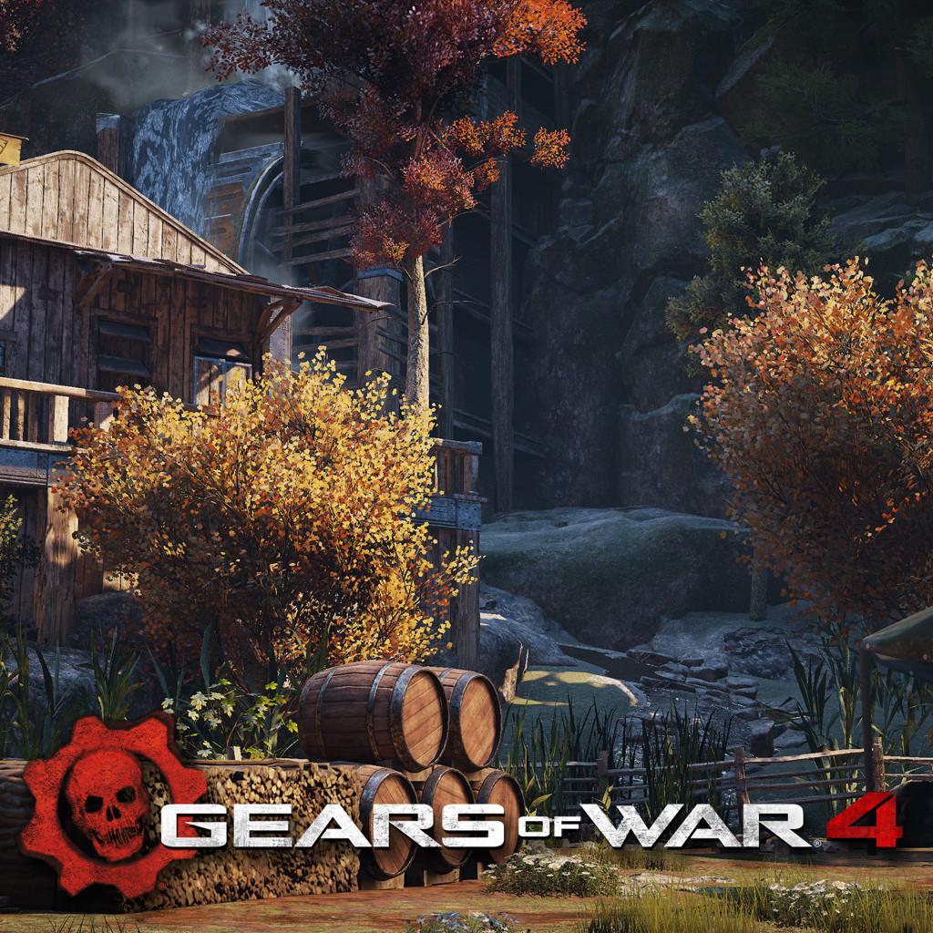 Gears of War 4 - Outsider settlement