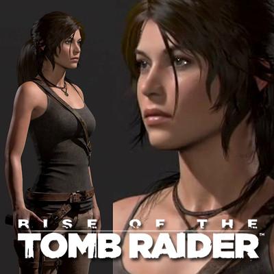 ArtStation - Lara - Rise of the Tomb Raider, Dan Roarty