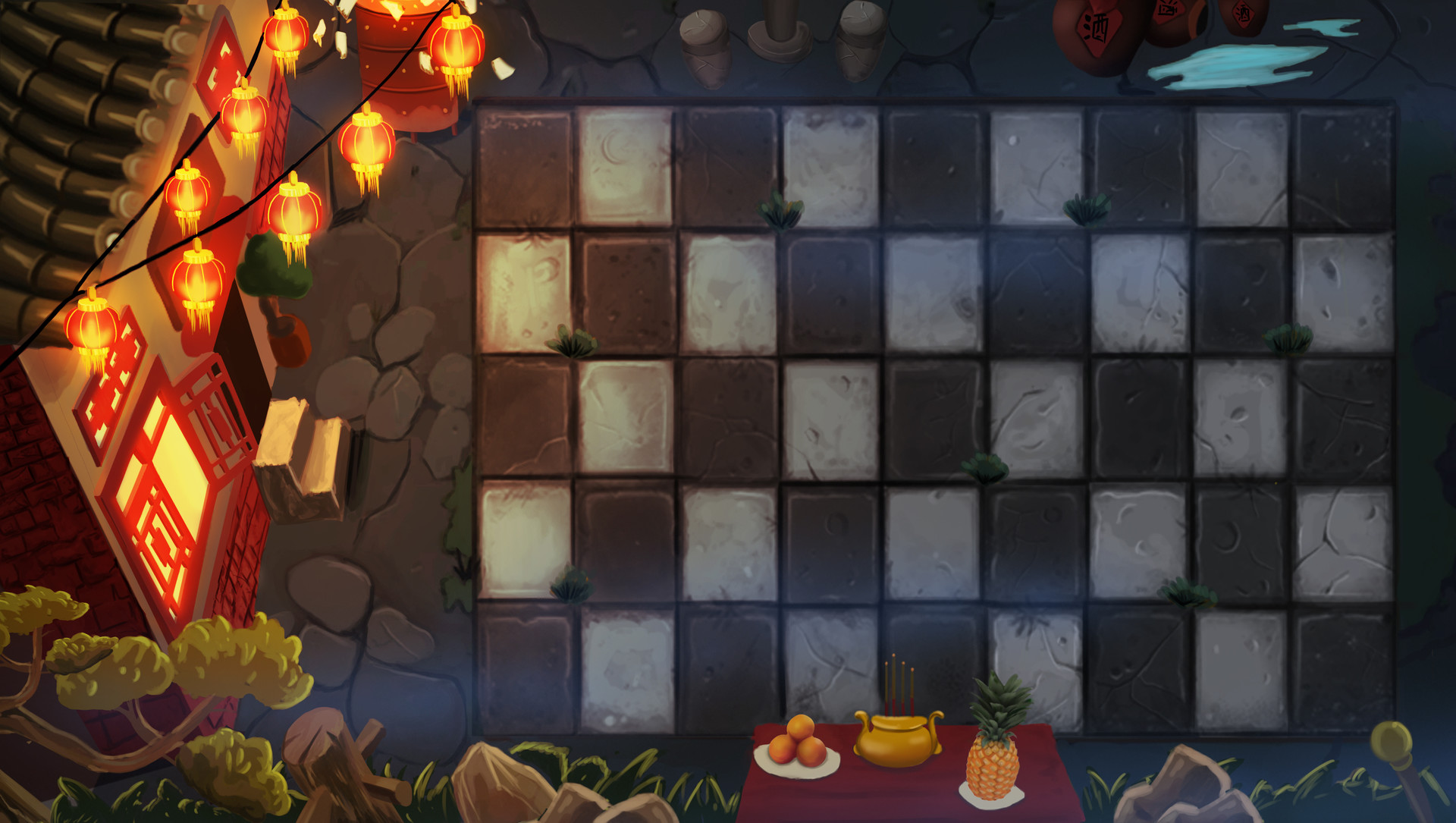 ArtStation - Plants vs  Zombies 2 - Chinese Hungry Ghost