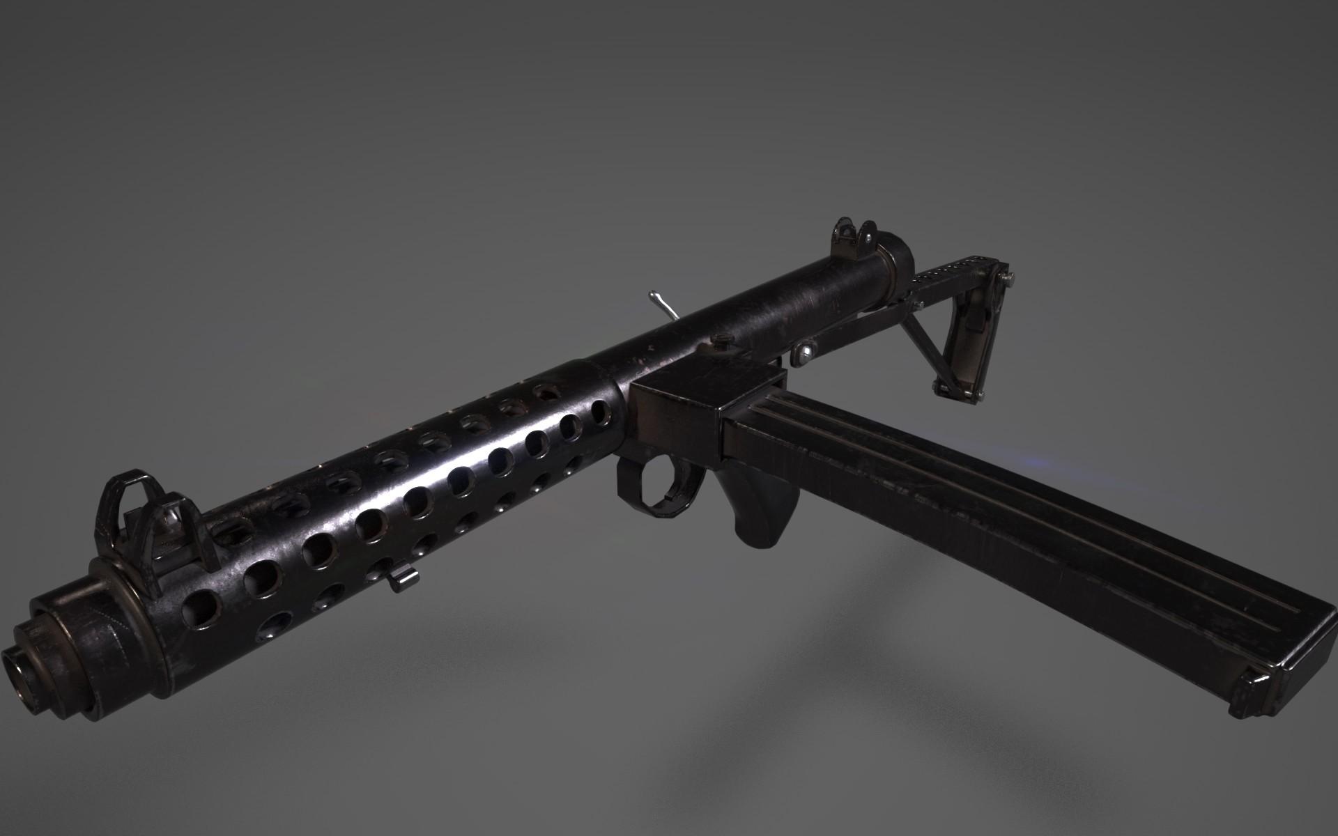 ArtStation - Sterling submachine gun, Joe-Louis Pereira