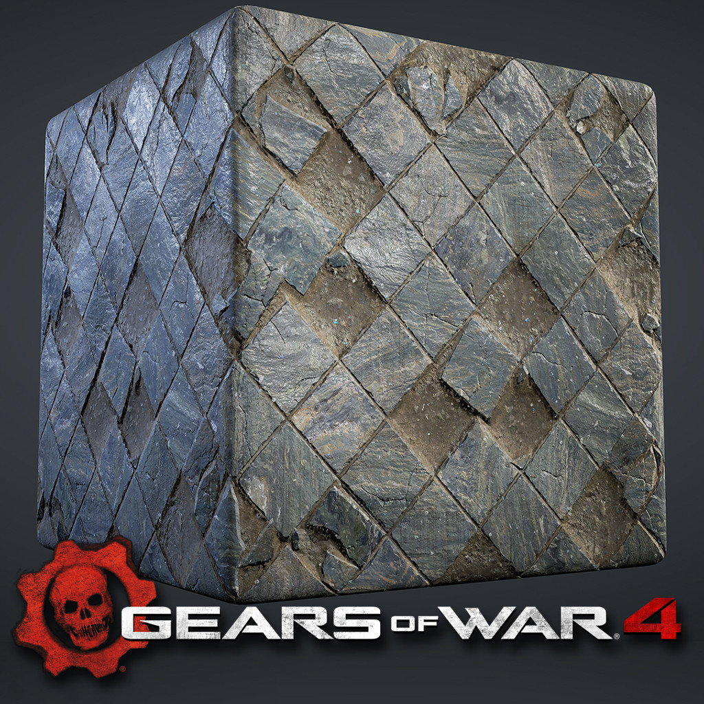 Gears of War 4 - Tiling Textures