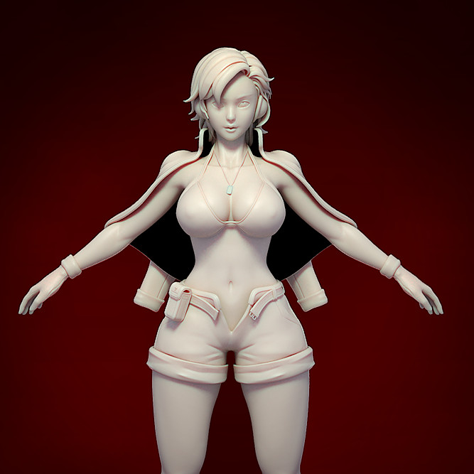 Exparia The Kamikaze - Exparia sculpt