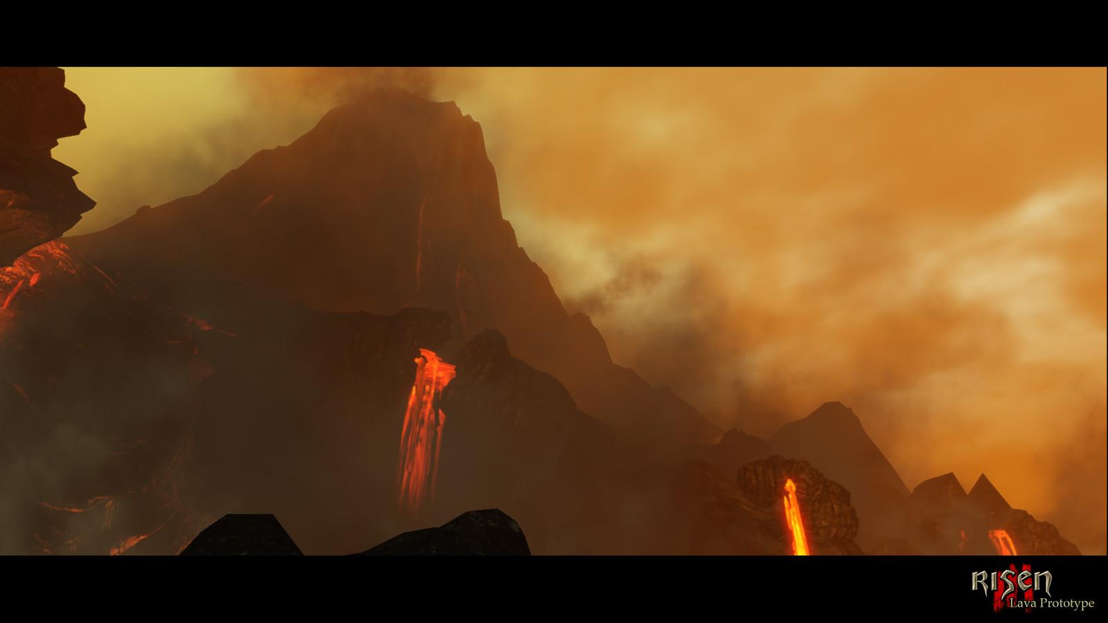 Risen 3 Lava Prototype (2012)