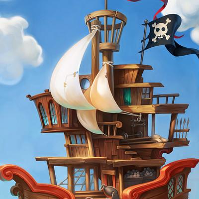 Atomhawk design nordeus pirates environment ship