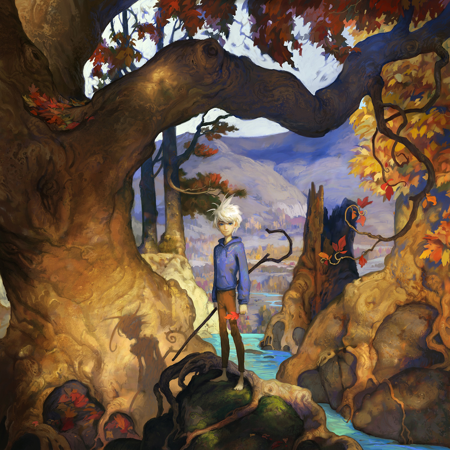 Jack Frost - Picture Book - The Guardians of Childhood