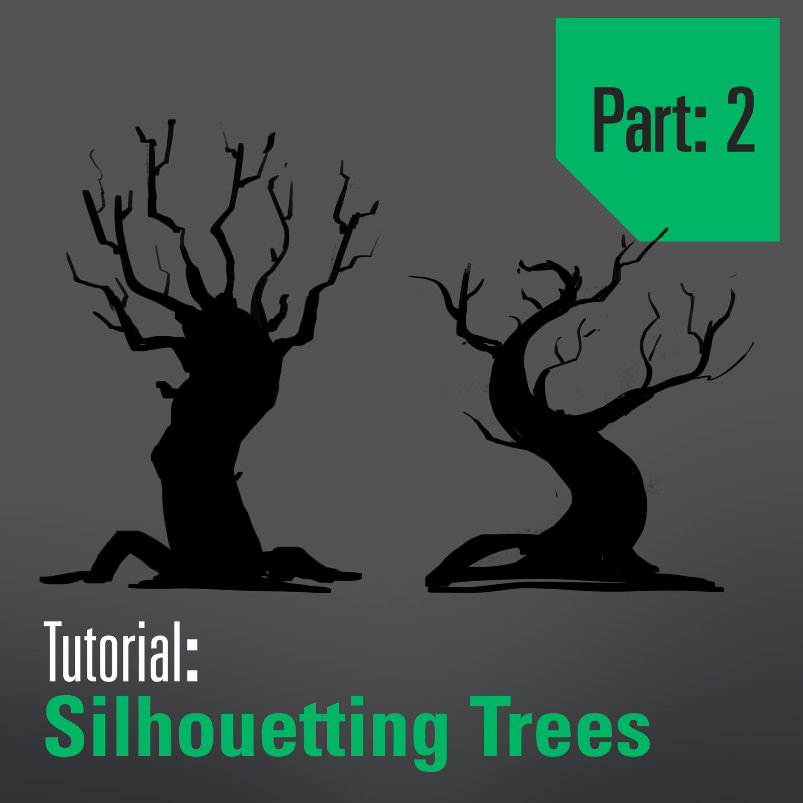 Tutorial - Drawing and Designing Trees - Part 2