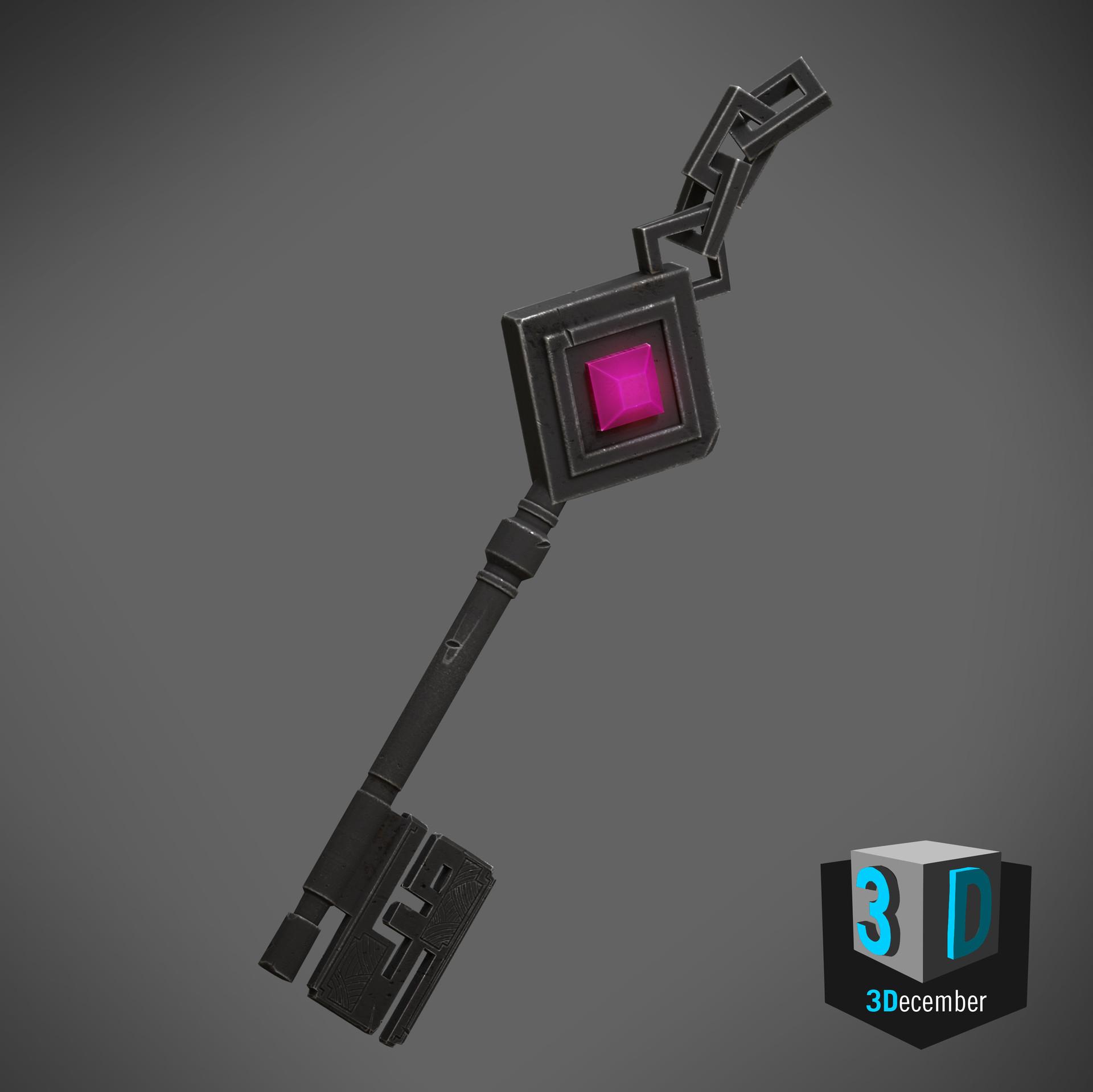 3December - Day 5 - Key