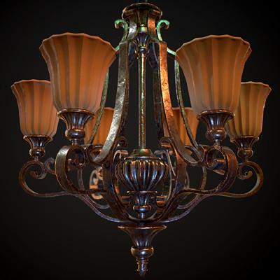 Elkanah tzur hoch chandelier thumbnail