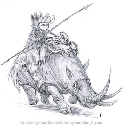Jim bryson sketch 13 rhino small