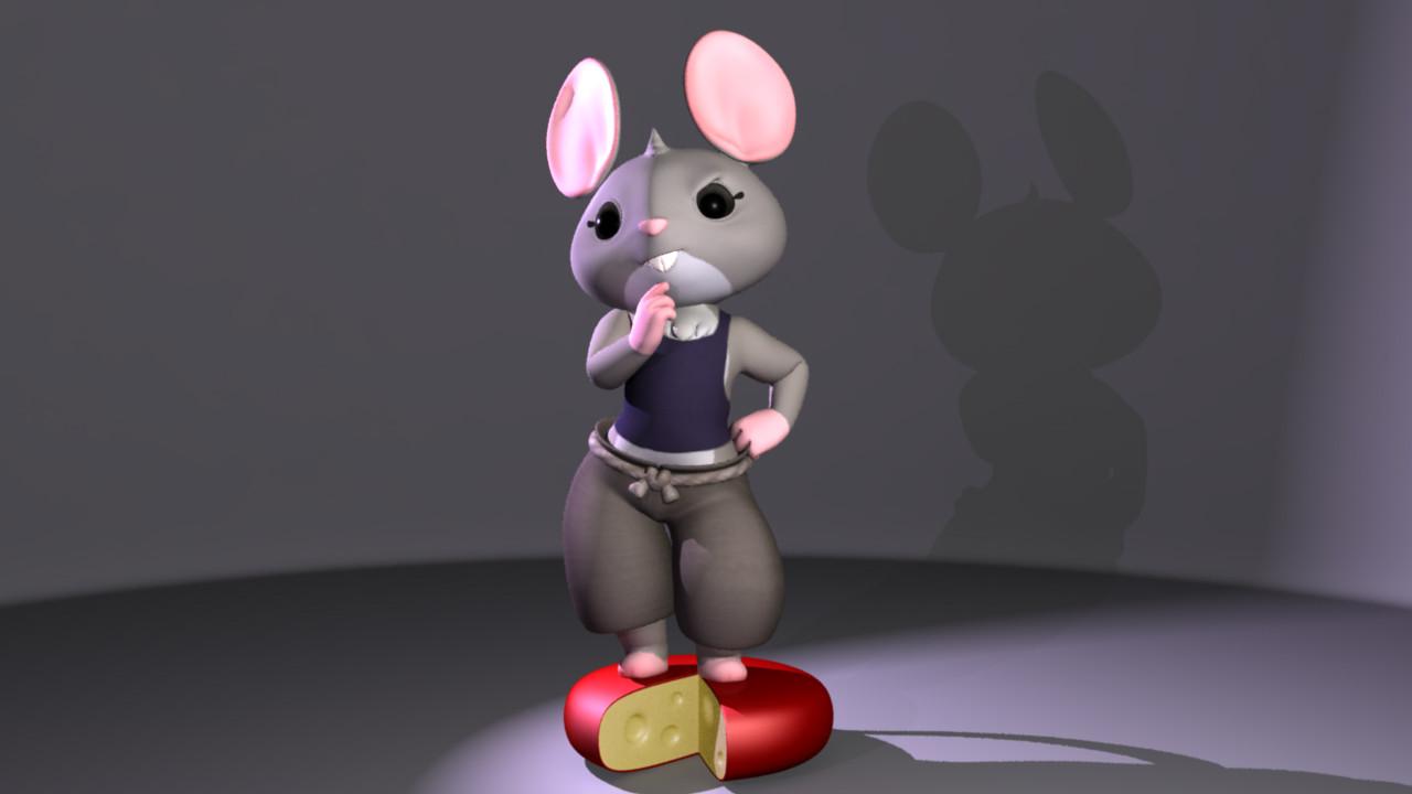 'Hazel' Junior project character model