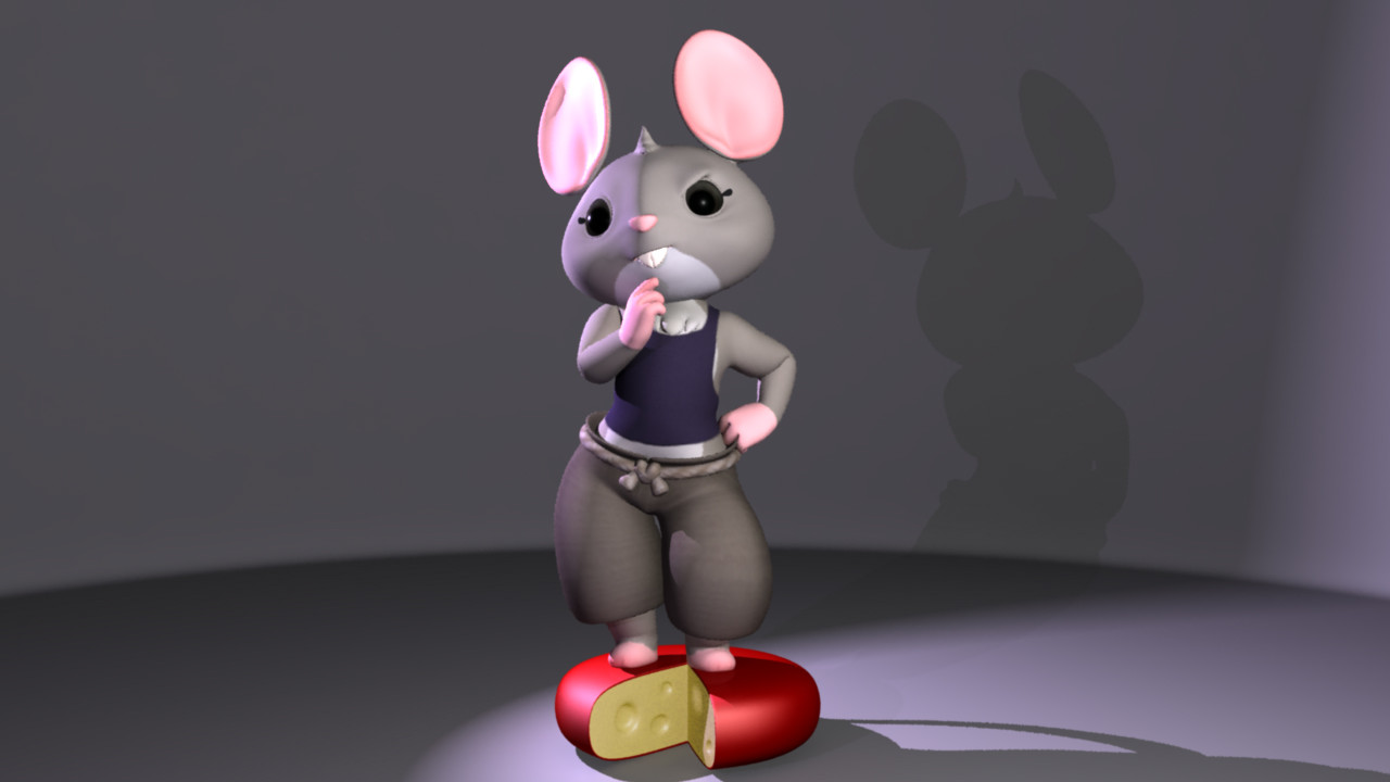 'Hazel' Junior project character model