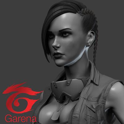 Garena: 武装菁英 Breakout - Female Liberator