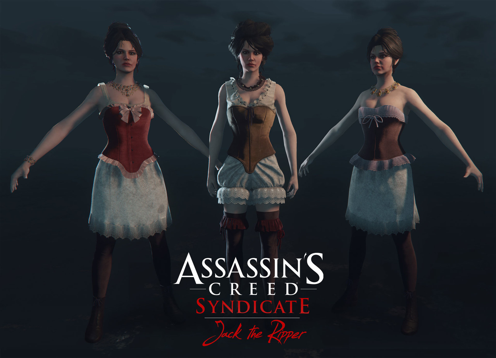 Prostitutes from : Assassin's Creed Syndicate  Jack The Ripper