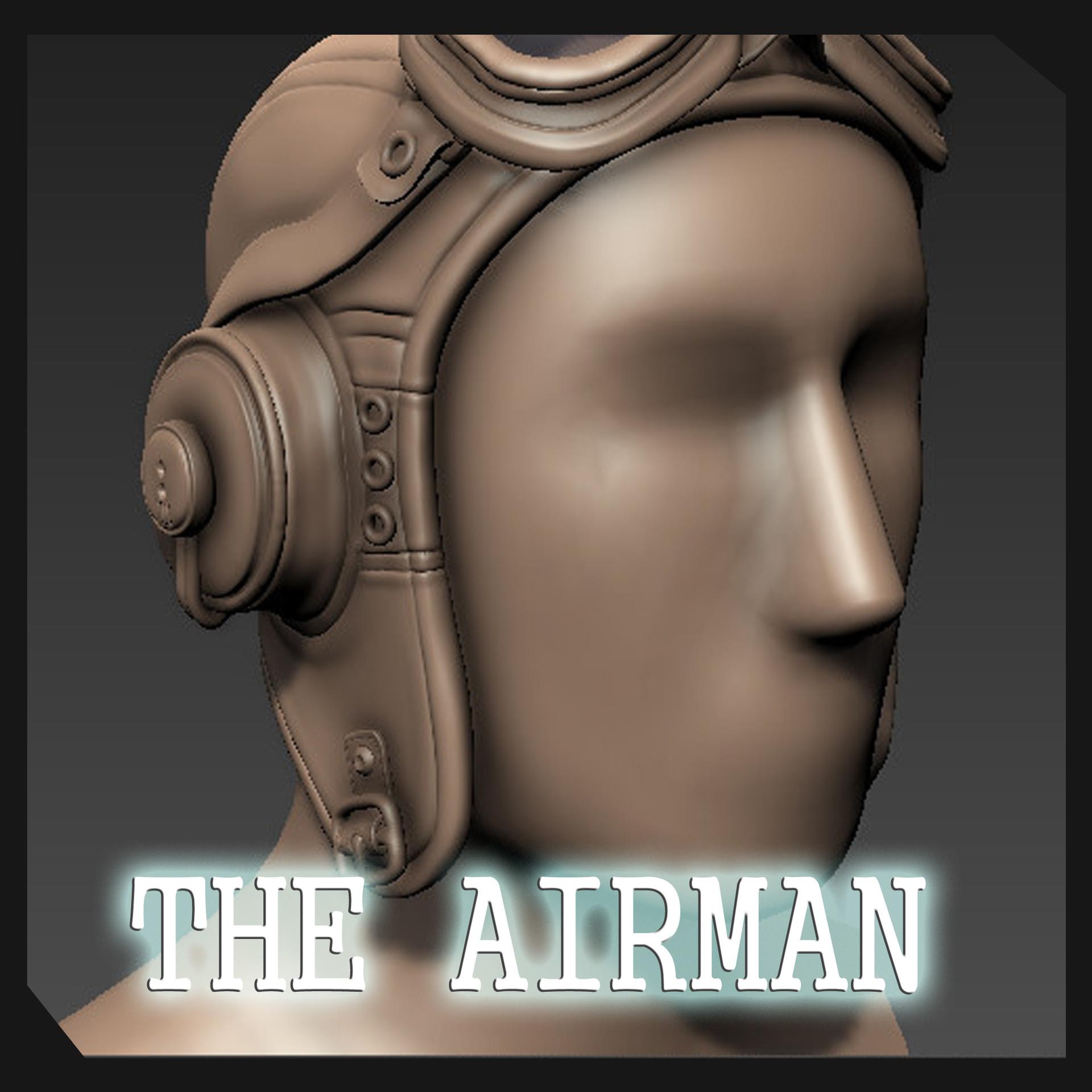 The Airman Sculpt WIP
