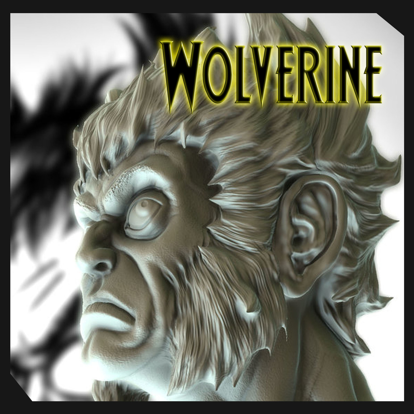 Wolverine Statue By Sergio Mengual