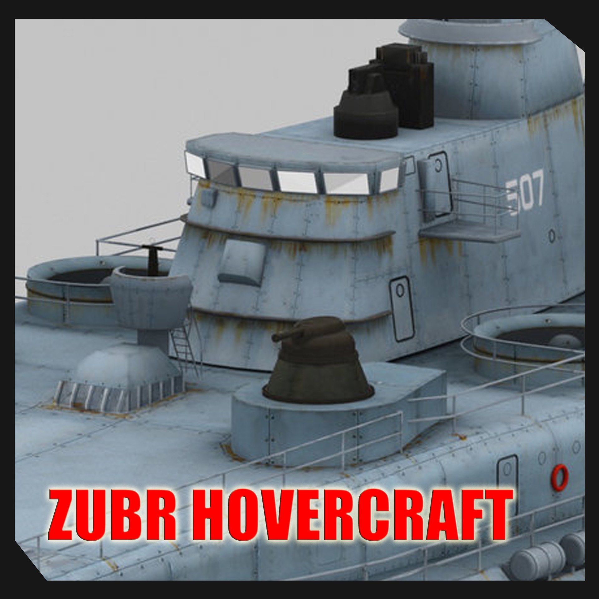 ZUBR RUSSIAN HOVERCRAFT By Sergio Mengual