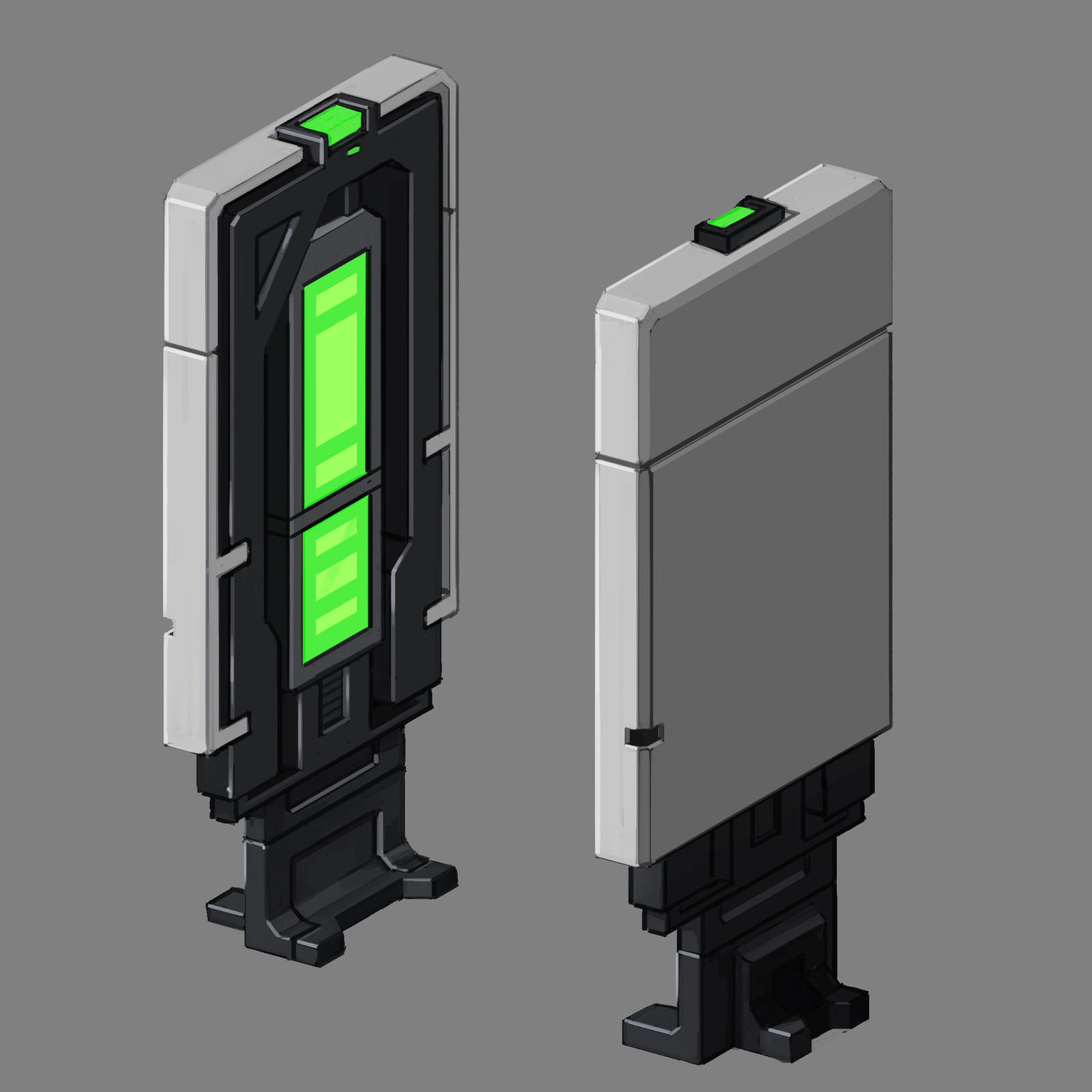 Door and Scanner Props